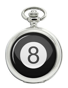 8 Ball Pool Pocket Watch