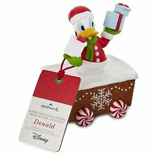 Donald Duck Disney Christmas Express 2016 Hallmark Limited Edition Train NWT