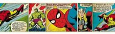 Marvel Avengers Wall Border Self Adhesive Comic Book 5m Deco Fun Graham & Brown