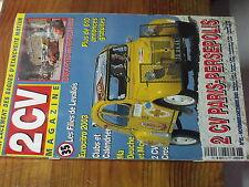 7µ?§ Revue 2CV Magazine n°35 remplacement bagues etancheité moteur / Persepolis