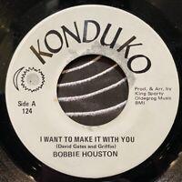 "70s islands soul funk 7"" BOBBIE HOUSTON I Want To Make It You ♫ Mp3 Konduko 1973"