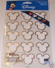 Disney 15 Mickey Icon Frame Stickers EK Success