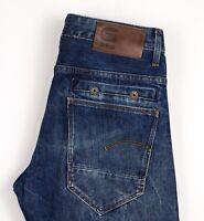 G-Star Raw Herren Riban Konisch Slim Jeans Größe W28 L32 ASZ539