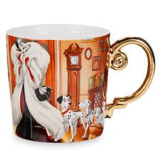 US Disney Folktale Designer Collection 2017 Cruella De Vil Mug 12 oz NIB!