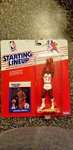 1988 MICHAEL JORDAN KENNER NBA Starting Lineup Figure Chicago Bulls (PSA 10)????