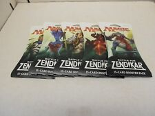 5 Magic The Gathering Battle For Zendikar Sealed Booster Packs