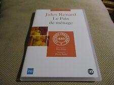 """DVD NF """"LE PAIN DE MENAGE - JULES RENARD"""" Claude WINTER, Jacques TOJA / theatre"""