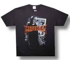 METALLICA 1980s Heavy Metal Hard Rock Band WINDOW Unisex Adult T SHIRT M New