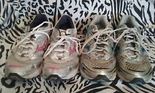 Lot Of 2 Pairs Mizuno Wave Inspire & Wave Rider Shoes Women's Size 9 ~ Free Ship