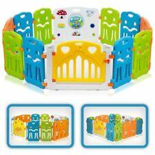 Baby Vivo Parc de Bébé en Plastique XL - Multicolore (44534554)