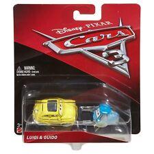 Disney Pixar Cars 3 Luigi & Guido 1:55 Scale Die-Cast Vehicles
