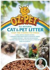 Oz Pet Cat & Small Animal Wood Pellet Litter - Also for Kitten, Ferret, Rat 15kg