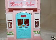 2011 Fisher Price Sweet Streets Beauty Salon  & Pet Shop