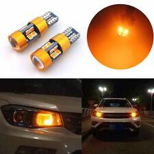 2x Car Orange 12V DC T10 168 194 2825 W5W 19SMD LED Light Bulb Accessories Set