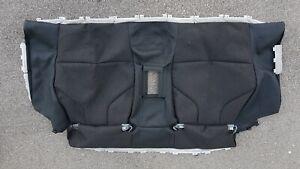 Original BMW M4 F82 Seat Cover Back Seat Rest Anthracite Carbon Dakota 805817204