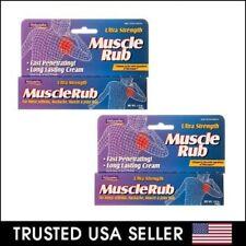 2 x Natureplex Ultra-Strength Muscle Rub Arthritis Backache Joint Pain 1.5 oz