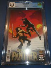 Black Panther #7 Isanove Conan vs Variant CGC 9.8 NM/M Gorgeous Gem 1st Zenzi