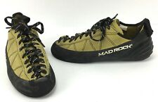 Mad Rock Phoenix Yellow Rock Climbing Shoes Lace Up US Size 8