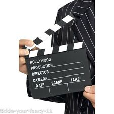 Film Director's Clapper Board Hollywood Movie Cut Take Fancy Dress Actress Actor