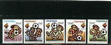 MOZAMBIQUE 1982 Sc#813-817 SOCCER WORLD CUP SPAIN SET OF 5 STAMPS MNH