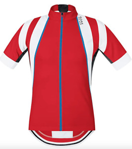 GORE BIKE WEAR OXYGEN Mens Cycling Full Zipped Short Sleeved Jersey @ 2XL XXL