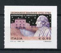 Italy 2016 MNH Leonardo Ximenes 1v S/A Set Astronomy Hydraulics Stamps