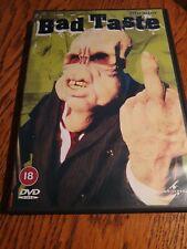 BAD TASTE DVD HORROR PETER JACKSON RATED 18