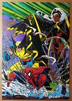 X-Men Wolverine Storm Amazing Spider-Man Marvel Comics Poster by Todd McFarlane