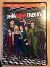 The Big Bang Theory The Complete Sixth Season DVD