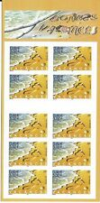 FRANCE 2001 HOLIDAYS FOOTPRINT IN SAND SG3737 CSB47 BOOKLET 46c 3.00F X 10.MINT