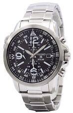 Seiko Solar Alarm Chronograph SSC075P1 SSC075 SSC075P Men's Watch
