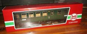ÜRF26 ] LGB 31355 Passenger Car 2 3. Class of The Saxon Narrow Gauge Boxed Top
