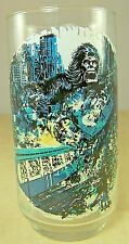 King Kong Coca Cola Coke Glass 1976 L/E DINO DE LAURENTIIS Gorilla Subway Train