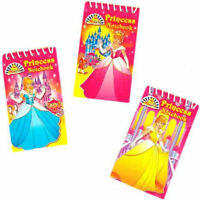 6 Princess Notebooks - Pinata Toy Loot/Party Bag Fillers Wedding/Kids