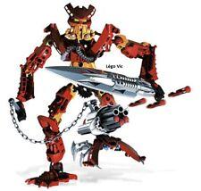 Lego 8911 Bionicle Mahri Nui Toa Mahri Jaller robot complet de 2007- N6