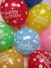 6 x Ballons Joyeux Anniversaire Bébé Décoration pour fête Marriage Fournitures