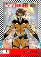 CRYSTAL / 2017 MARVEL ANNUAL (2018 Upper Deck) BASE Trading Card #57