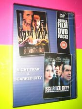 Night Trap / Scarred City DVD {2 Films} Stephen Baldwin New and Sealed FREEPOST