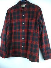 Men'S Woolrich Wool Plaid Shirt Hunting, Workshirt, Outdoor Hipster, Rockabilly