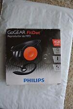 Philips GoGEAR FitDot MP3 Player 4GB