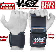 Weight Lifting Hooks Gym Wrist Support Straps Power Gripper Chin Up Gloves