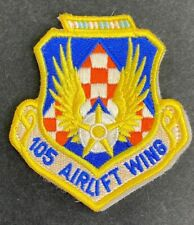 Us Air Force 105th Airlift Wing Patch