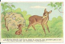 CPA - Carte Postale - WALT DISNEY - Edition Superluxe Bambi N° 5 - Postcard