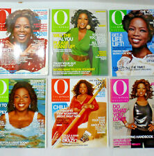 O, The Oprah Magazine, 6 Issues From 2007
