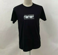 Obey Men's T-Shirt Subliminal Propaganda Black Size M NWT Shepard Fairey