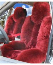Genuine Australian Sheepskin Fur Car 1 Front Seat Cover Winter Universal M12