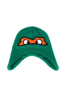 Teenage Mutant Ninja Turtles Knit Reversible Beanie Michelangelo/Leonardo