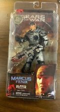 NECA Gears Of War 2 Marcus Fenix With Holding Cog Tags TRU Toys R Us Exclusive