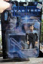 1996 Playmate Star Trek First Contact Movie Commander William T Riker W/Base Moc