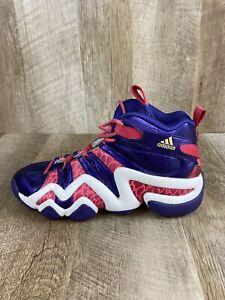 Adidas Crazy 8 G98385 Basketball Shoes Kid Youth Unisex Pink Purple White Size 7
